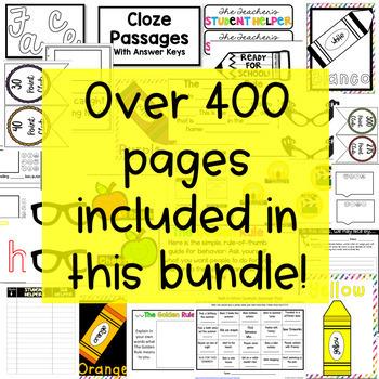 Set Up Your Class for Success Bundle