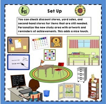 """Set Up Your Own """"Home Learning Center"""""""
