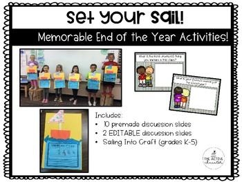 Set Your Sail (End of the Year Activities)!