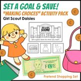 """Set a Goal & Save! - Girl Scout Daisies - """"Making Choices"""" Leaf Badge (Step 2)"""