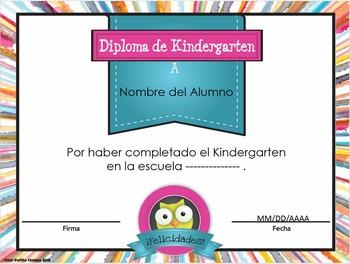 Spanish End of the Year Awards - Diplomas y Medallas para fin de año Editable