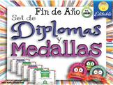 Spanish End of the Year Awards - Diplomas y Medallas para