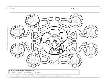 Set de actividades variadas para Kinder y prescolar