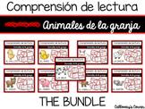 Comprensión de lectura. Animales de la granja