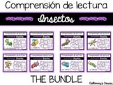 Set de comprensión de lectura: Insectos