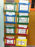 Set of 10 Addition Games with Math Center Signs