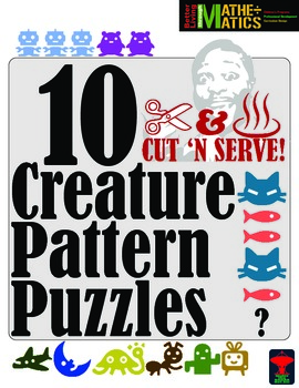 Pattern Puzzles: 10 Different Challenges with Nifty Creatures