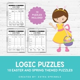 10 Easter and Spring Logic Puzzles