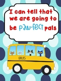 Set of 10 Pete the Cat & Friends Classroom Posters