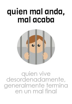 Set of 10 Spanish Dichos/Refranes (Idioms)