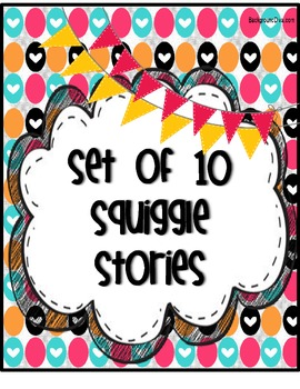 Set of 10 Squiggle Stories