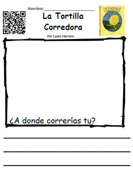 Set of 11 Spanish QR Listening Center Response Sheets