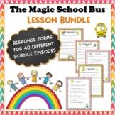Magic School Bus Science Bundle 40 Video Response Worksheets