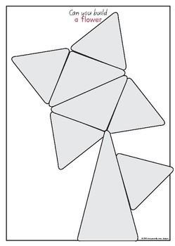 Set of 12 Magnetic Tile Patterns; Math Patterns
