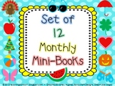 Set of 12 Monthly Mini-Books