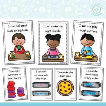 Play Dough Task Cards