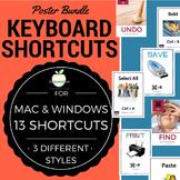 Keyboard Shortcut Posters Bundle