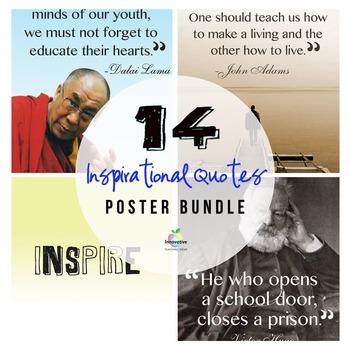 Growth mindset Poster Bundle