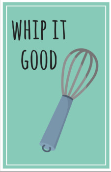 Set of 16 Kitchen Posters/Prints 16x20 (Family & Consumer Science or Culinary)