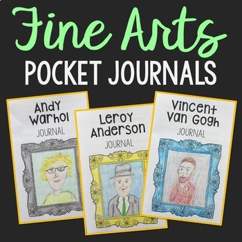 Fine Arts Journal Projects, EASY Study for Artists and Composers - Set of 18