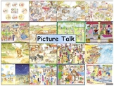Set of 18 Illustrations for  Picture Talk (Indian Context)