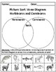 Set of 2: Animal Kingdom (Nocturnal/Diurnal + Herbivores/Carnivores) Activities