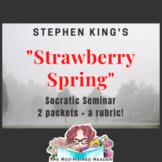 Set of 2 Socratic Seminars: Stephen King's Strawberry Spri