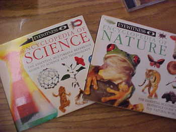 Set of 2 Software CD's: Ency. of Nature and Ency. of Science