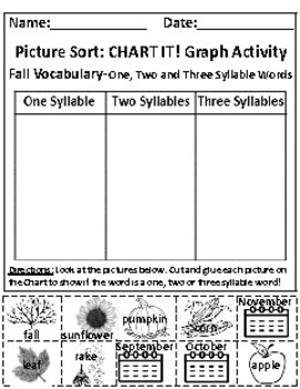 Set of 2: The Fall Season and The Sky Graphing Activities *Answer Keys Included!