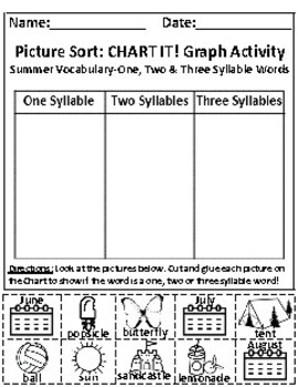 Set of 2: The Summer Season and The Sky Graph Activities *Answer Keys Included!