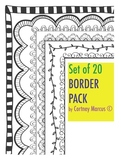 Set of 20 Borders!
