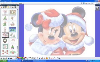 Set of 20 Christmas Backgrounds for ActivInspire Flipcharts