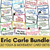 Distance Learning: Set of 20 Eric Carle Yoga & Movement Po