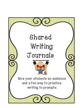 Audience: 24 Shared Writing Journal Covers