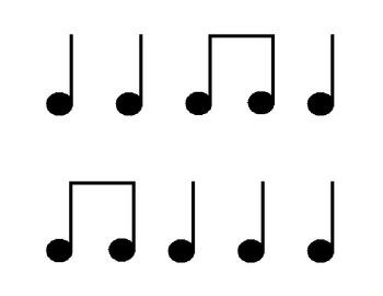 Set of 25 Rhythm Cards