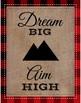 Set of 3 Lumberjack Themed Posters