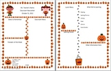 Set of 3 Halloween Themed Newsletters