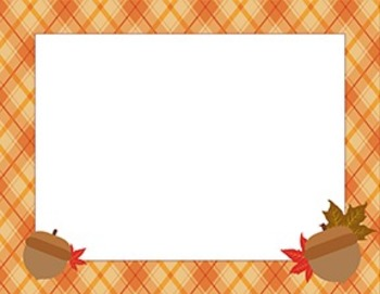 Set of 3 Happy Fall Poster and Borders
