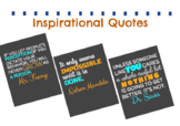 Set of 3 Inspirational Quotes Posters