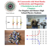 Set of 31 Physics Matching Worksheets in Modern Physics an