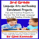 3rd Grade Reading and Language Arts Projects! Covers All Standards!