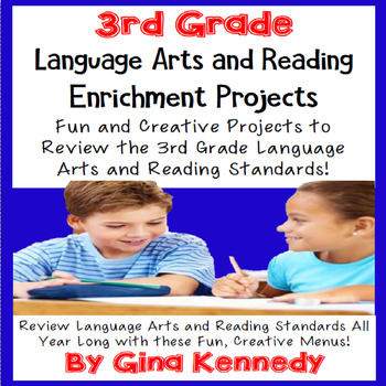 3rd Grade Reading and Writing Enrichment Projects, Covers