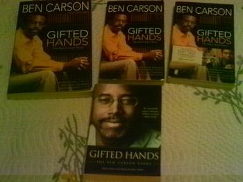 Set of 4 Gift Hands the Ben Carson Story Novels
