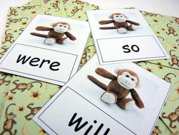 Set of 4 Literacy Games to teach the first 80 Dolch Sight Words
