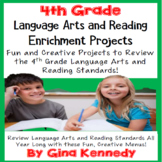 4th Grade Reading and Language Arts Projects! Covers All Standards!