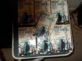 Set of 5 Night by Elie Wiesel Novels