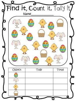 Spring and Easter Math Games