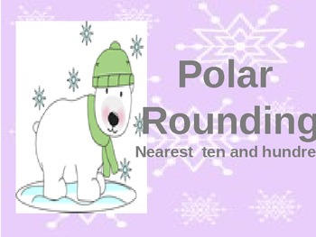 Set of 5 Winter Polar Themed Math Centers ( 3rd+4th)