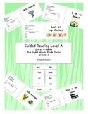 Set of 5 reproducible Guided Reading Level A books and fla