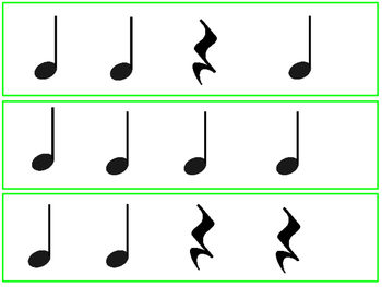 Set of 54 Rhythm Cards
